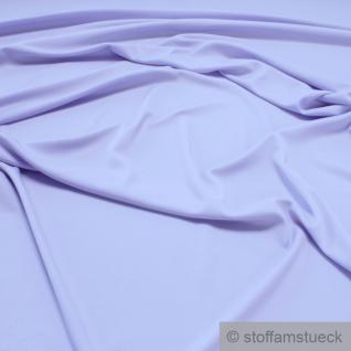 Stoff Polyester Elastan Interlock Jersey flieder leicht bi-elastisch