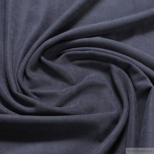 Stoff Polyester Panama dunkelgrau angeraut breit Polsterstoff 30.000 Martindale