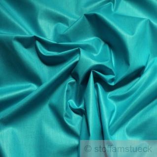 Stoff Baumwolle Popeline aqua Chintz Baumwollstoff blau wasserblau blau