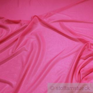 2 Meter Polyamid Futterstoff Gewirk pink Futter fließend transparent