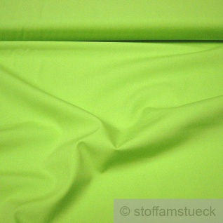 Stoff Baumwolle Popeline kiwi Baumwollstoff hellgrün