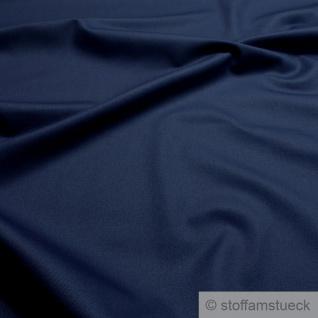 Stoff Baumwolle Feinköper dunkelblau Baumwollstoff Köper blau