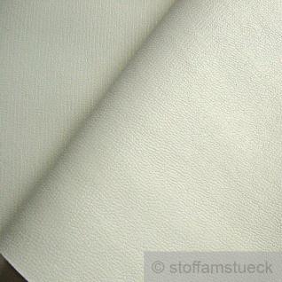 Stoff PVC Kunstleder weiß Narbung 22.000 Martindale