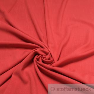 Stoff Baumwolle Polyester Leinwand rot Flammgarn blickdicht knitterarm