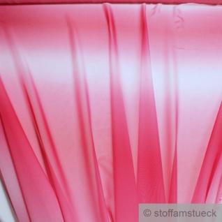 Stoff Polyester Changeant Chiffon pink rosa transparent sehr leicht weich