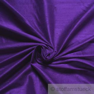 Stoff Shantung Seide Leinwand lila reine Seide edel