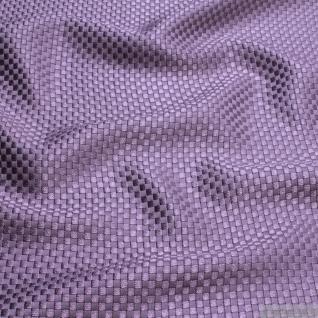 Stoff Viskose Baumwolle Panama lavendel Polsterstoff 40.000 Martindale