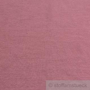 Stoff Baumwolle Interlock Jersey pastellrosa rosa T-Shirt Tricot weich dehnbar - Vorschau 3