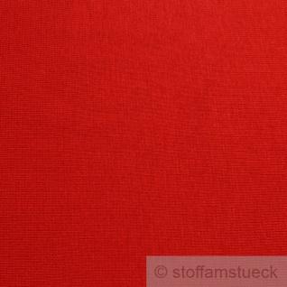 0, 5 Meter Baumwolle Elastan Bündchen rot kbA GOTS C. PAULI - Vorschau 2