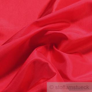 10 Meter Stoff Polyester Kleidertaft rot Taft dezenter Glanz