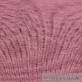 Stoff Baumwolle Interlock Jersey pastellrosa rosa T-Shirt Tricot weich dehnbar - Vorschau 4