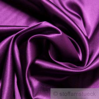 Stoff Seide Elastan Satin violett weich fließend Stretch elastisch edel