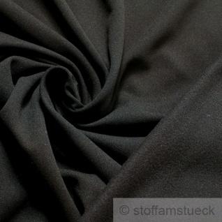 Stoff Polyester Jersey schwarz Softshell atmungsaktiv windabweisend Thermo-Dry