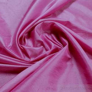 Stoff Polyester Kleidertaft pink Taft dezenter Glanz