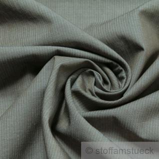 2 Meter Stoff Baumwolle Lycra Popeline schlamm braun grau Baumwollstoff Bluse