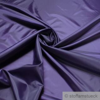 2 Meter Stoff Polyester Futter Taft dunkellila Futterstoff lila