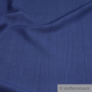 Stoff Baumwolle Viskose blau Flammgarn weich Leinenoptik