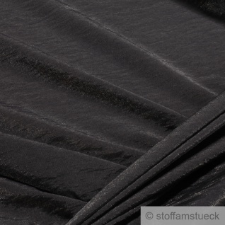 Stoff Viskose Polyamid anthrazit silbrig glitzernd transparent leicht