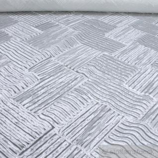 Stoff Polyamid Polyester Elastan Tüllspitze weiß Raute Bändchen elastisch weich