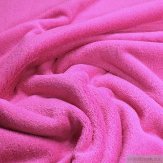 Stoff Polyester Wellness Fleece pink Kuschelfleece