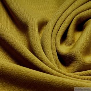 0, 5 Meter Stoff Baumwolle Interlock Jersey limettengrün T-Shirt weich lime - Vorschau 2