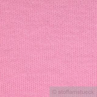 Stoff Baumwolle Interlock Jersey rosa T-Shirt Tricot weich dehnbar - Vorschau 2