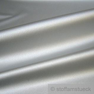 Stoff Polyester Leinwand silber Metall Glanz Verkleidung 3D Sonnenschirmstoff