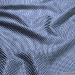 Stoff Viskose Baumwolle Panama eisblau Polsterstoff 40.000 Martindale