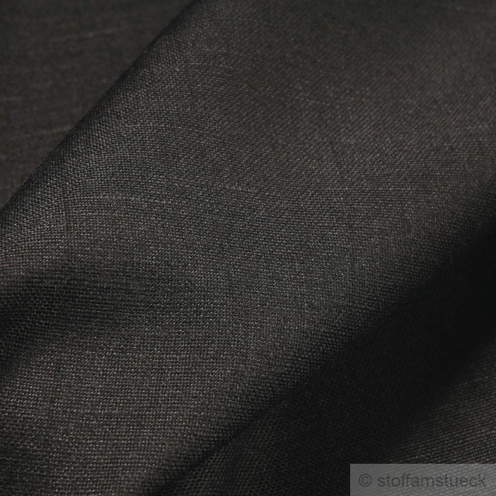 stoff leinen viskose leinwand schwarz fein leicht mischgewebe kaufen bei stoff am st ck. Black Bedroom Furniture Sets. Home Design Ideas