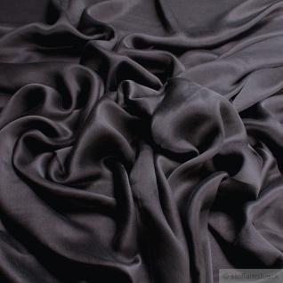 Stoff Seide Satin dunkelbraun fließend anschmiegsam leicht braun