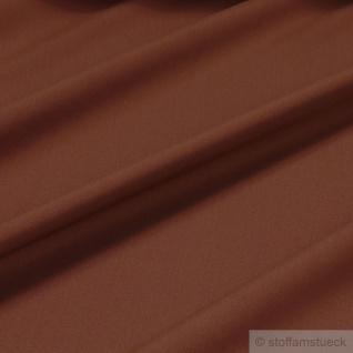 Stoff Polyester Baumwolle Leinwand rotbraun Mischgewebe pflegeleicht braun