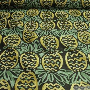 Stoff Baumwolle Polyester Gobelin Ananas Decke Kissenbezug Tasche