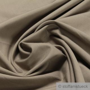 Stoff Polyester Baumwolle Popeline beige blickdicht