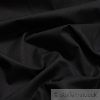 Stoff Baumwolle Batist schwarz leicht luftig transparent