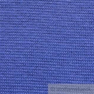 0, 5 Meter Baumwolle Elastan Bündchen kobaltblau kbA GOTS C. Pauli - Vorschau 3