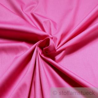 Stoff Baumwolle Elastan Satin pink edel fuchsia