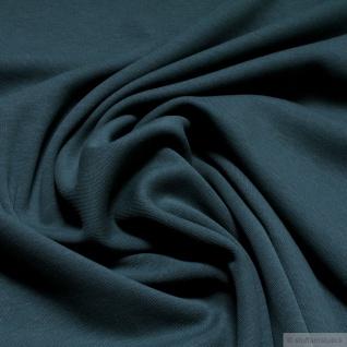 0, 5 Meter Stoff Baumwolle Interlock Jersey seegrün T-Shirt Tricot weich grün