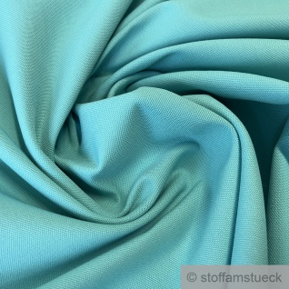 Stoff Baumwolle Rips türkis 280 cm breit überbreit