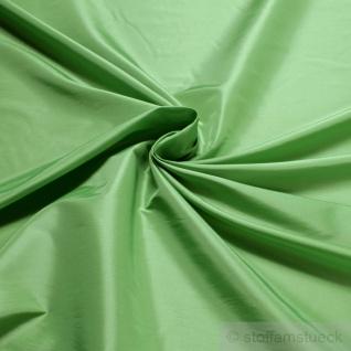 10 Meter Stoff Polyester Kleidertaft lindgrün Taft dezenter Glanz grün