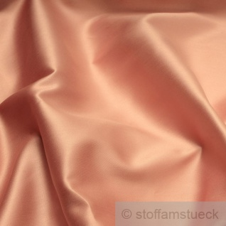 Stoff Baumwolle Satin altrose überbreit 300 cm breit mercerisiert rosa altrosa