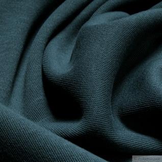 Stoff Baumwolle Interlock Jersey seegrün T-Shirt Tricot weich dehnbar grün - Vorschau 2