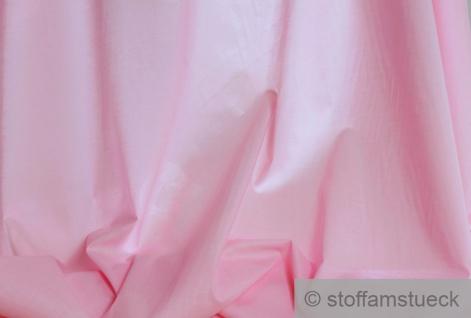 Stoff Baumwolle Batist rosa leicht luftig transparent