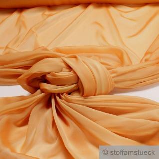 Stoff Polyester Changeant Chiffon sonnengelb transparent sehr leicht weich gelb