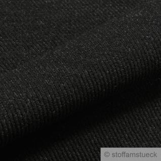 Stoff Wolle Köper anthrazit weich - Vorschau 2