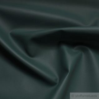 Stoff PVC Kunstleder dunkelgrün Leder Narbung 22.000 Martindale