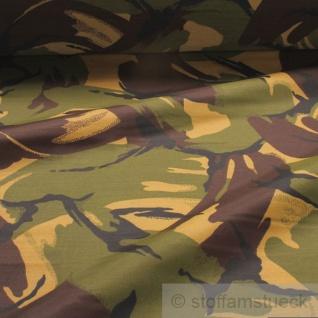Stoff Polyester Flecktarn DPM England UK Camouflage Tarndruck wasserabweisend