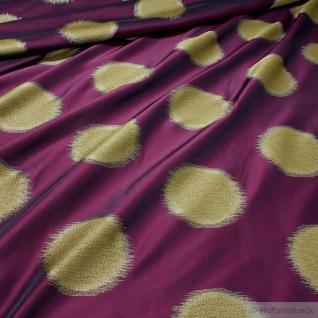 Stoff Trevira® CS Taft bordeaux Kreis überbreit 333 cm breit blickdicht Polyeste