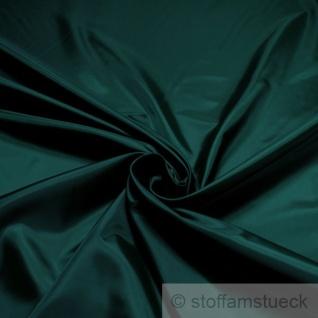 2 Meter Stoff Polyester Futter Taft dunkelgrün Futterstoff