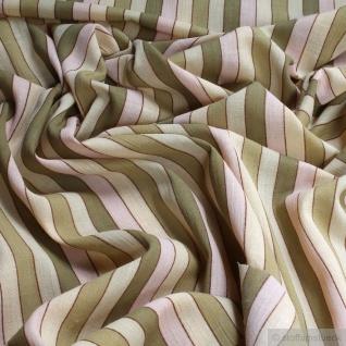 Stoff Baumwolle Batist Streifen grün transparent durchscheinend leicht