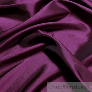 Stoff Polyester Kleidertaft violett Taft dezenter Glanz lila